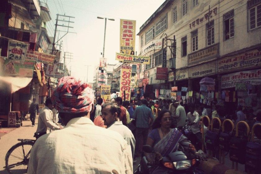 varanasi street shot