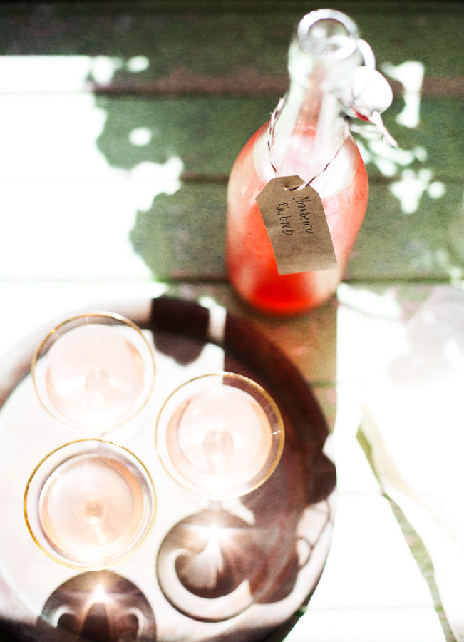 Strawberry Rhubarb cordial-3
