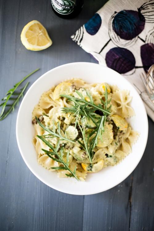yellow squash pasta-1