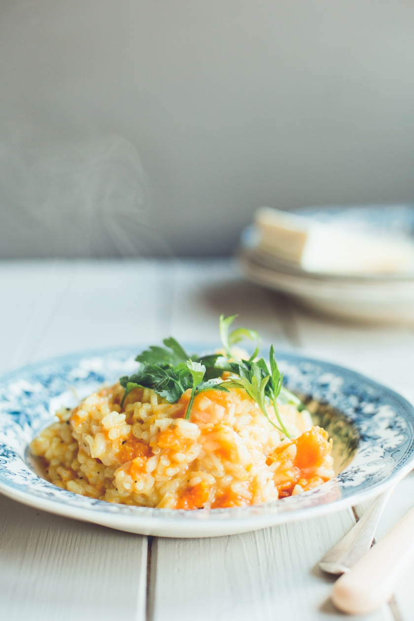 butternut squah risotto