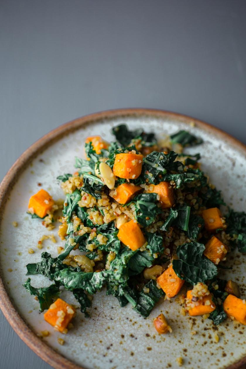 Kale and Butternut Squash Quinoa Recipe -1