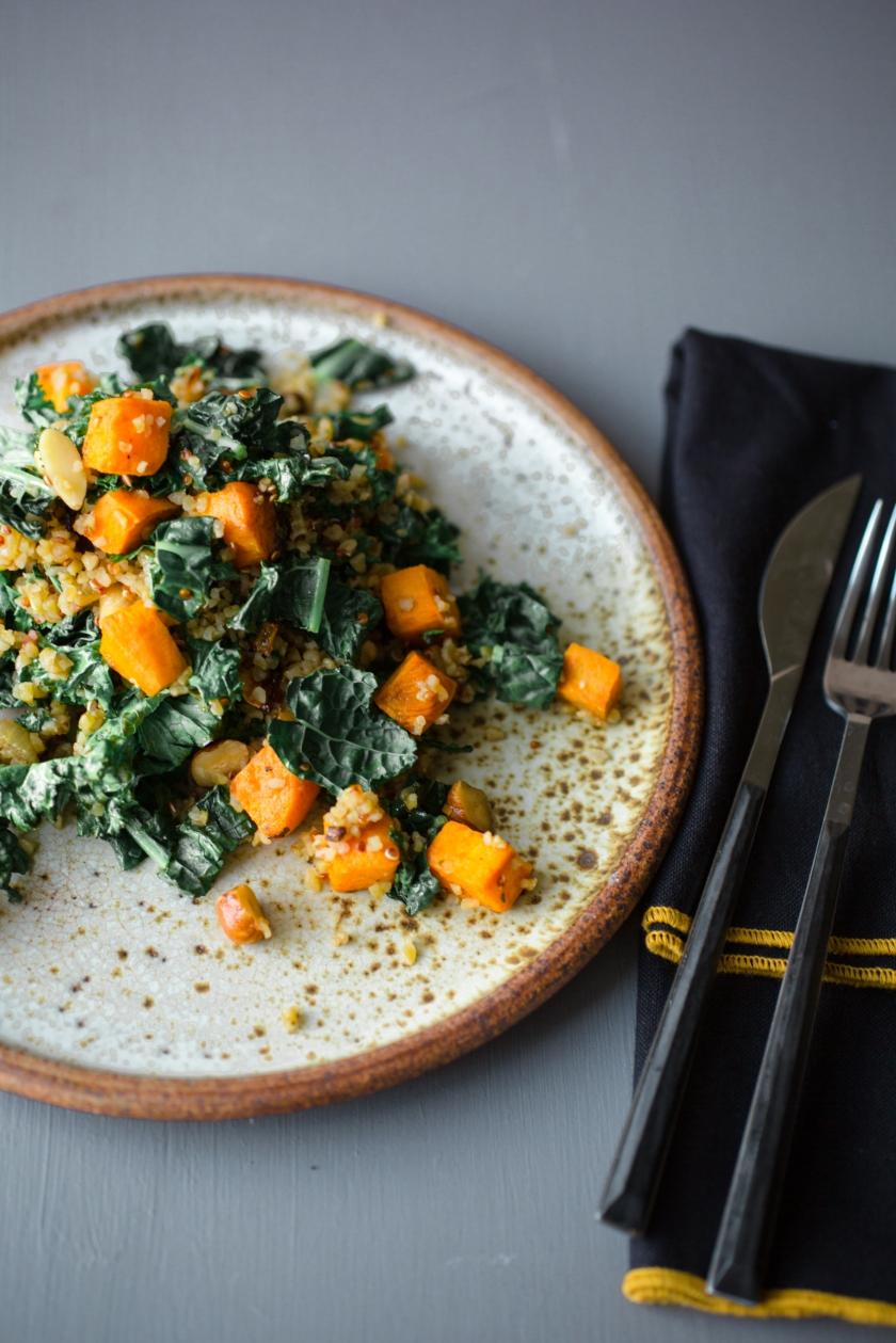 Kale and Butternut Squash Quinoa Recipe -2