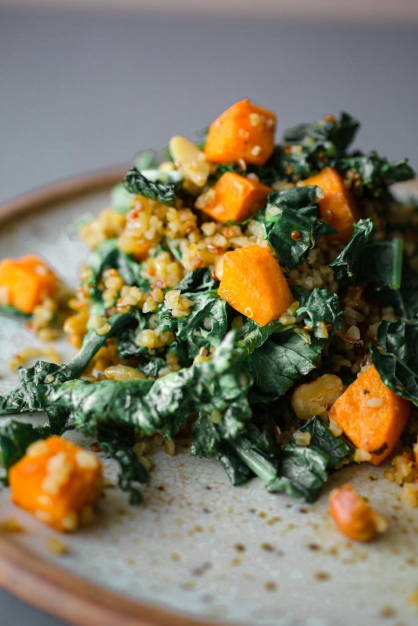 Kale and Butternut Squash Quinoa Recipe -3