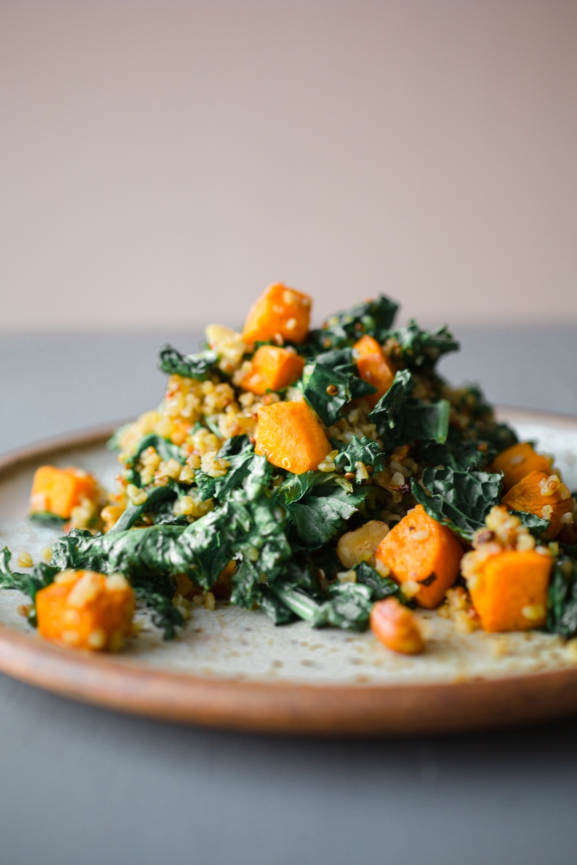 Kale and Butternut Squash Quinoa Recipe -4