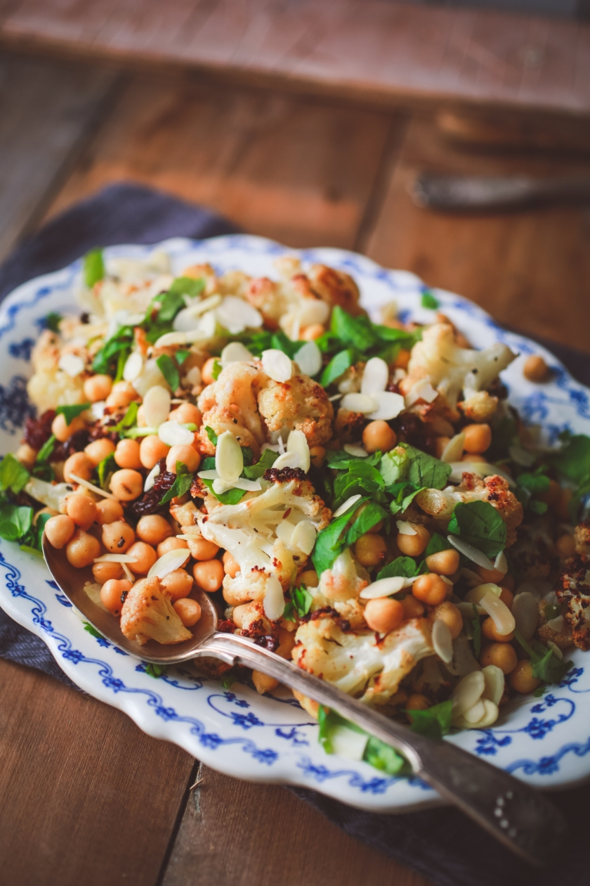 cauliflower-chickpea-bowl